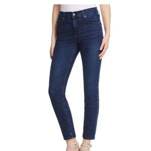 Karen Kane Skinny Ankle High Waisted Jeans NWT